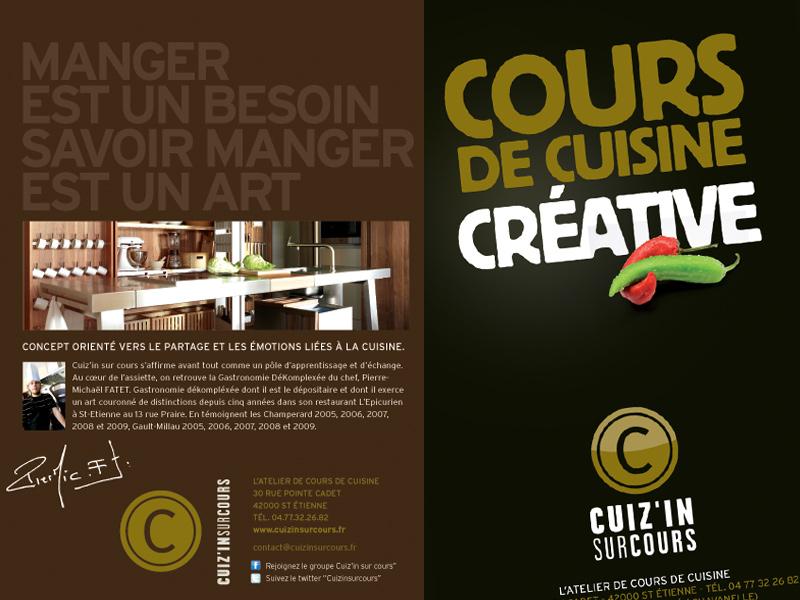 Atelier cuisine saint etienne best biennale design - Cours de cuisine par internet ...