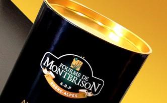 Création d'un packaging événementiel pour la Fourme de Montbrison.