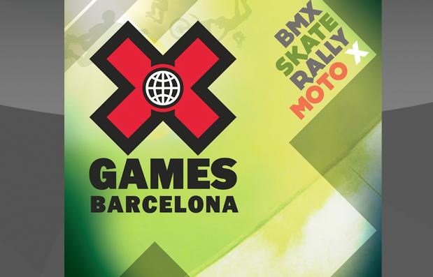 Création des documents de promotion Xgames 2013