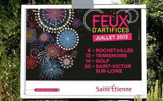 Création de la campagne ville de Saint-Etienne