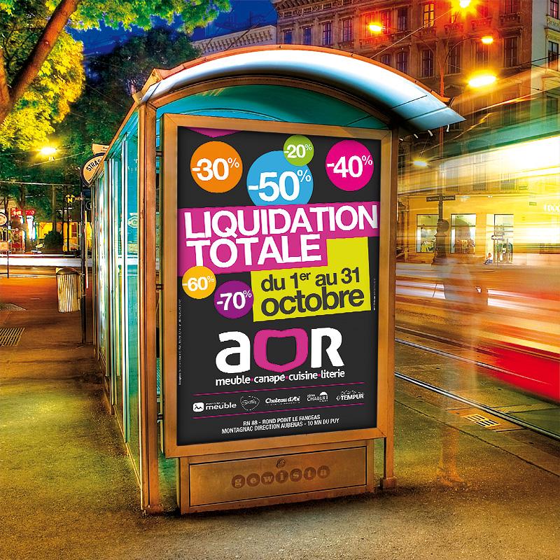Création de la campagne de liquidation AOR