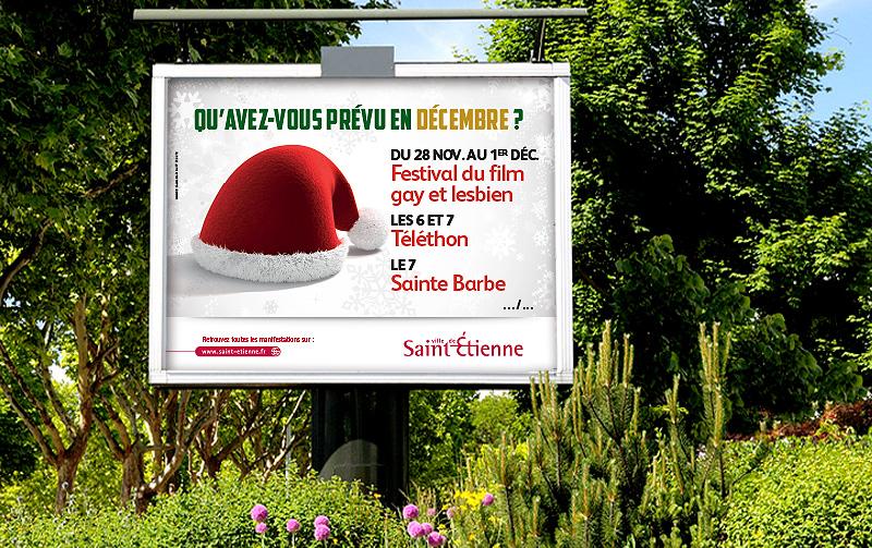 Campagne de communication de la Ville de Saint-Etienne