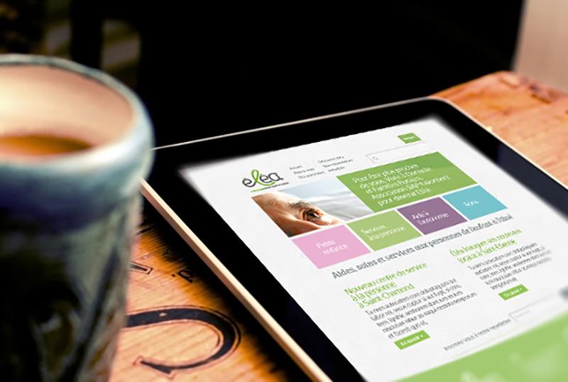 Création du site internet responsive de la marque Eléa.