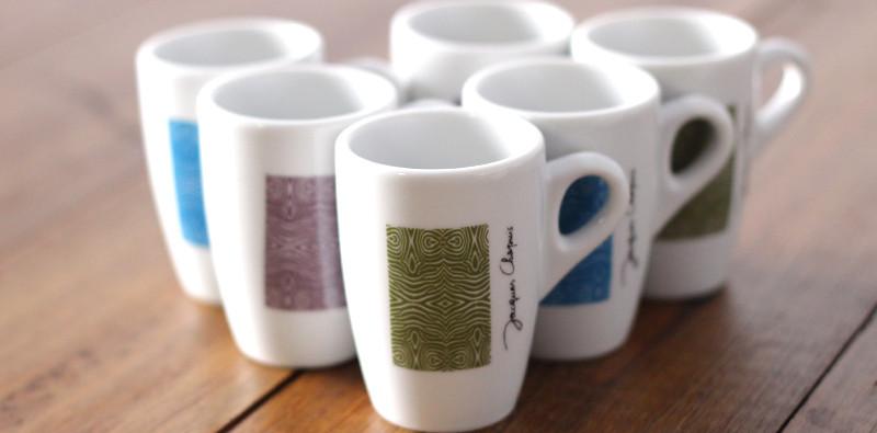 nouveau design pour les tasses caf des caf s chapuis. Black Bedroom Furniture Sets. Home Design Ideas