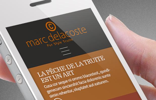 Création du site internet Marc Delacoste