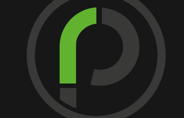 Création de logo avec la marque RP Revêtement à Saint-Etienne