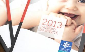 Création du rapport d'Activité de la Caisse d'Allocations Familiales de la Loire