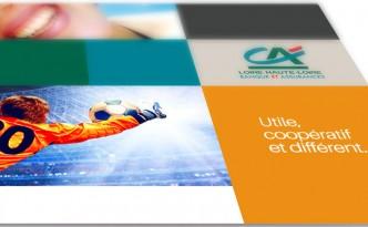 Le Crédit Agricole Loire Haute-Loire fait confiance à l'agence 32 Décembre.