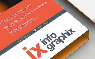 Création de la plaquette Infographix.