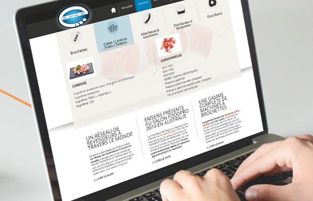 Création du site internet Emsens