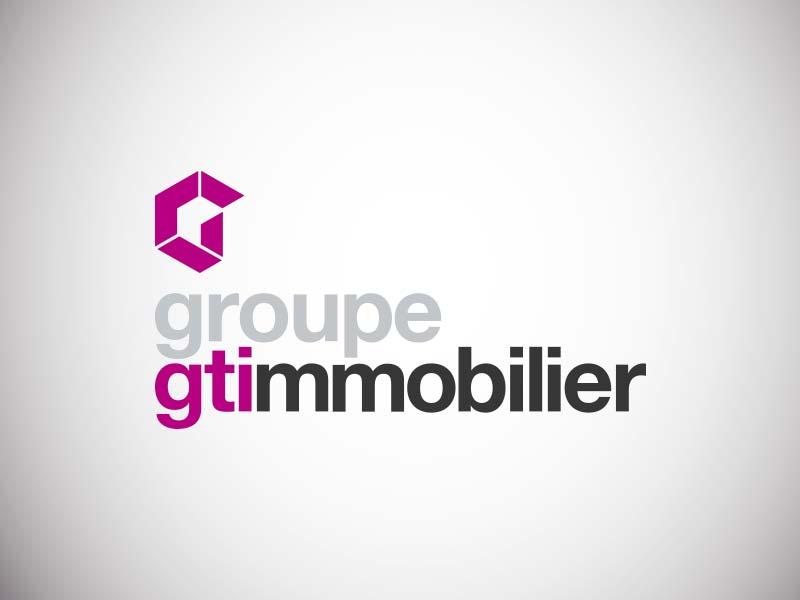 Création de marque pour le Groupe GTI Immobilier