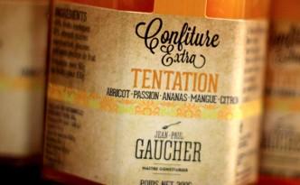 Création de la gamme packaging Confitures pour Jean-Paul Gaucher