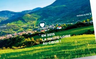 Création de la carte de vœux du Département de la Haute-Loire
