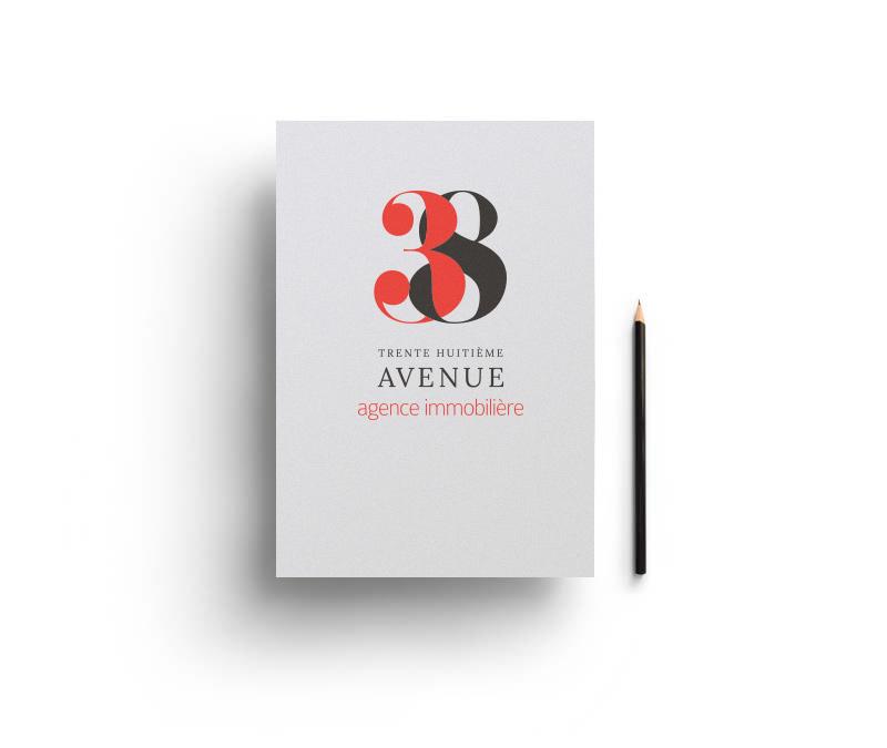 Création de la nouvelle marque immobilière à Vienne : 38ème Avenue.