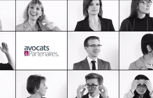 Création de la carte de vœux numérique pour Avocats et Partenaires.