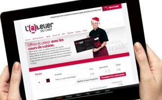 Création du nouveau site internet ecommerce de l'Atelier du Chef au Puy-en-Velay