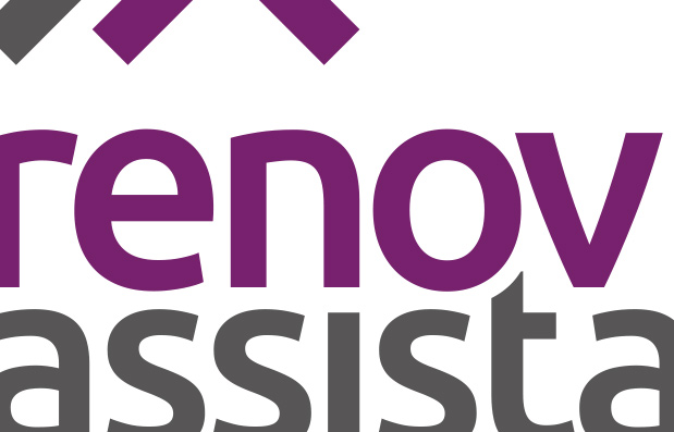 Création du logo Rénov'Assistance.