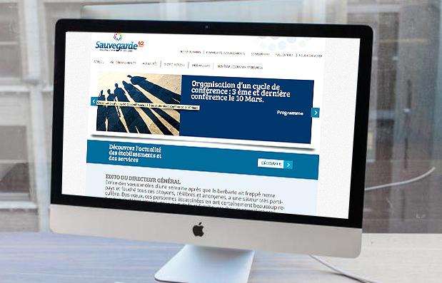 Création du site internet de La Sauvegarde 42