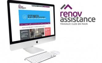 Création du site internet Renov Assitance