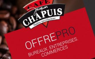 Communication b to b pour les Cafés Chapuis