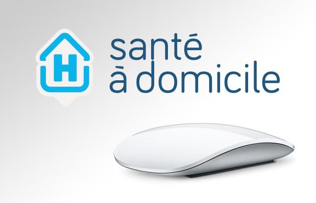 Création du site internet HAD Santé à Domicile.