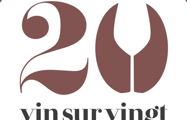 Création du logo Vin sur Vingt.