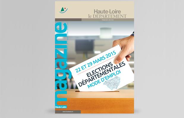 Edition du magazine de janvier du Département de la Haute-Loire
