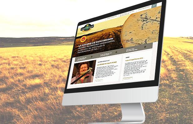 Création du site internet de la Fourme de Montbrison
