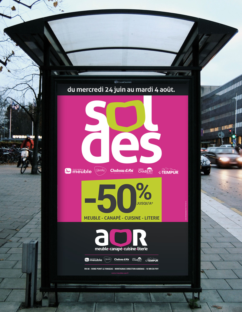 AOR lance ses soldes d'été en Haute-Loire.