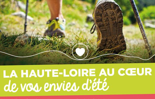 Edition du magazine d'été du Département de la Haute-Loire