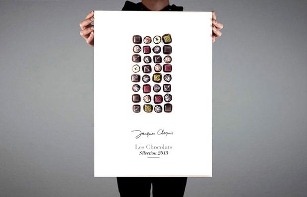Création de la catalogue Chocolat 2015 des Cafés Chapuis.