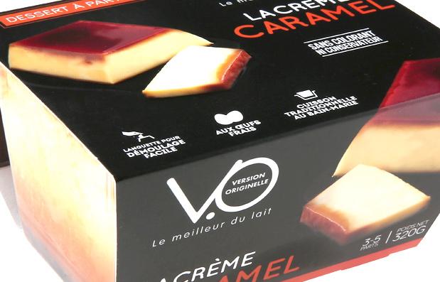 Nouvelle charte packaging pour les produits VO de la Laiterie du Forez