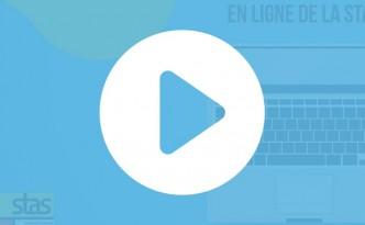 Création du tutoriel vidéo pour la boutique en ligne de la Stas.