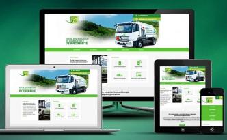Création des supports print & web de 3C Combustibles à Tence.