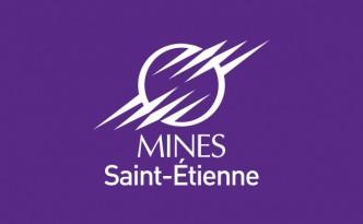 Évolution créative de la charte graphique de l'Ecole des Mines de Saint-Etienne».