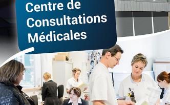 Création d'un dépliant informatif pour le Centre de Consultations Médicales d'Yssingeaux.