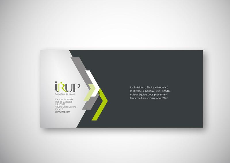 Création de la campagne de voeux 2016 de l'IRUP
