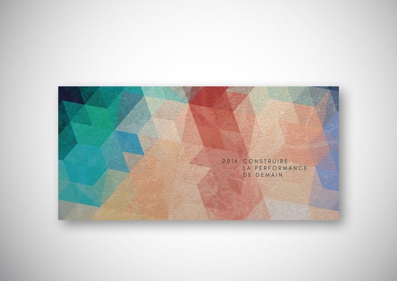 Création de la carte de vœux 2016 de l'ISTP.