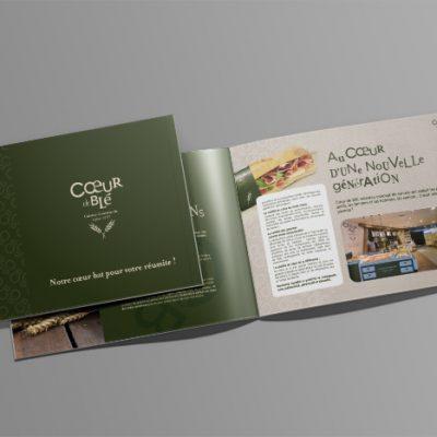Création d'un magazine pour Casino Restauration