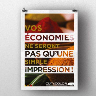 Création d'un poster pour Isermatic