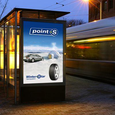 Création d'un campagne d'affiche pour Point S