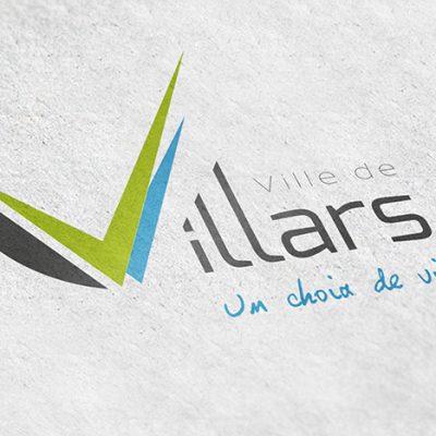 Création de la charte graphique de la ville de Villars