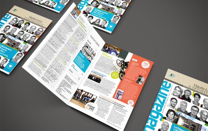 Edition du magazine du Département de la Haute-Loire