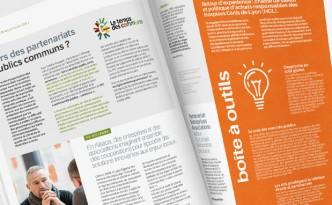 Edition du magazine Eclaira, le magazine de l'économie circulaire en Rhône-Alpes