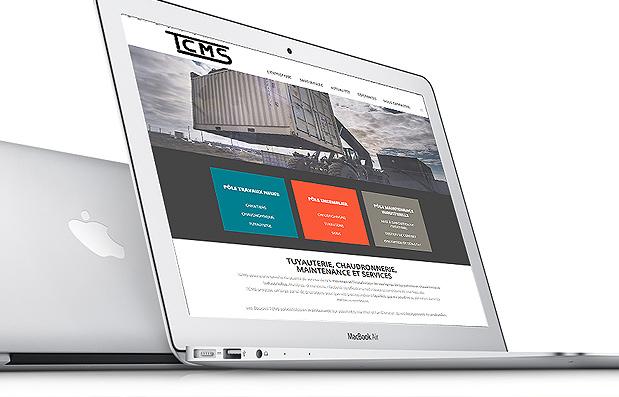 Création du site internet de la société TCMS.