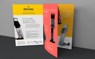 Création des supports de promotion de la marque Distreasy