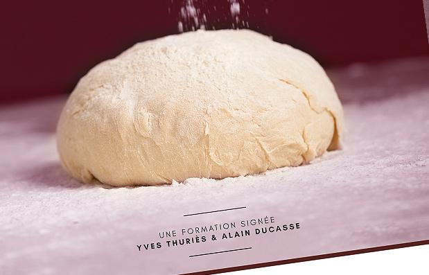 Création de la plaquette Boulangerie de l'Ecole Nationale de Pâtisserie