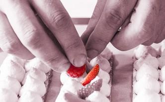 Création de la plaquette Formations professionnelles continues de l'Ecole Nationale de Pâtisserie