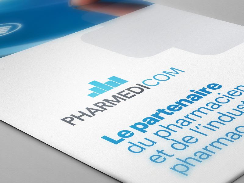 Création des identités visuelles du groupe Pharmédigroup.