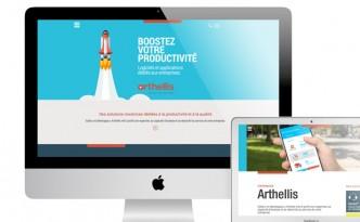 Création du site internet d'Arthellis.
